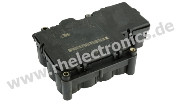 Repair ABS / ESP control unit RH type A22 - view without block