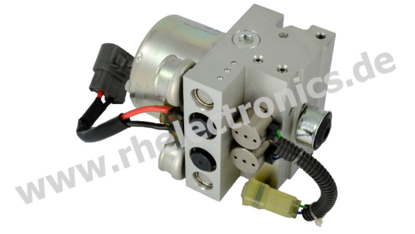 Repair ABS control unit motorcycle AM07