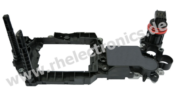 Repair gearbox control unit GS04 - View without control sliding box