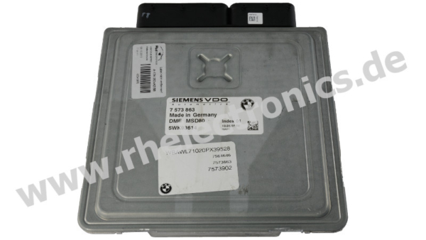Repair engine control unit M23 BMW E90 / BMW E93