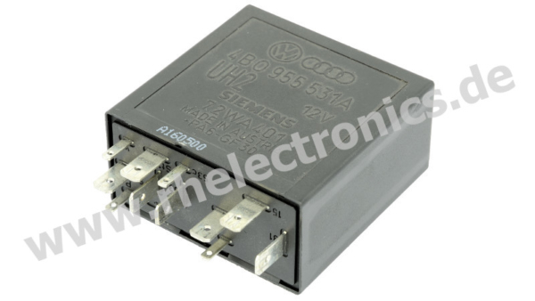 Repair relay for central locking and immobilizer - M52