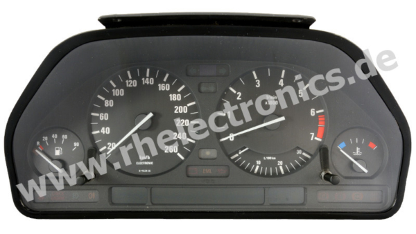 Repair control panel insert / instrument cluster S02 BMW 7 Series E32