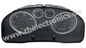 Repair panel insert / instrument cluster S06 VW T5 and others