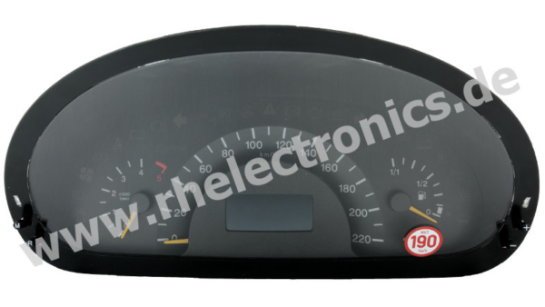 Repair panel insert / instrument cluster / speedometer S12