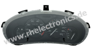 Repair panel insert / instrument cluster S13 Peugeot 206