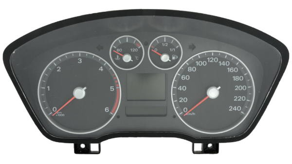 Repair panel insert / Instrument cluster / Speedometer - Version with two displays - S18
