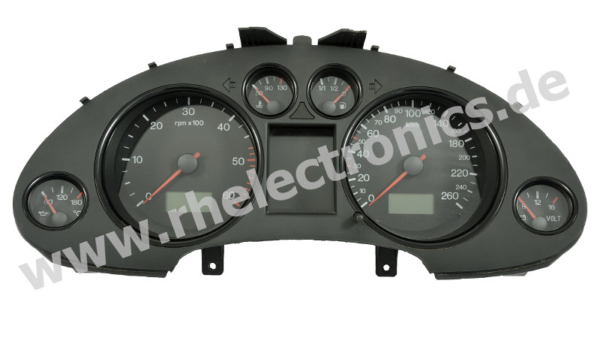 Repair panel insert / instrument cluster / speedometer for Seat Ibiza and others - S30