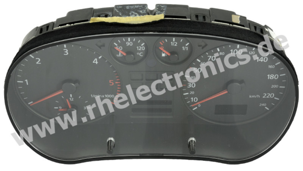 Repair control panel insert, instrument cluster, speedometer S33