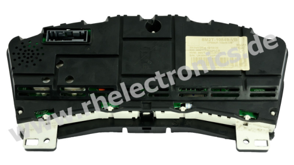 Repair panel insert, instrument cluster, speedo, multimedia display Ford Galaxy - S38